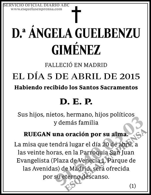 Ángela Guelbenzu Giménez
